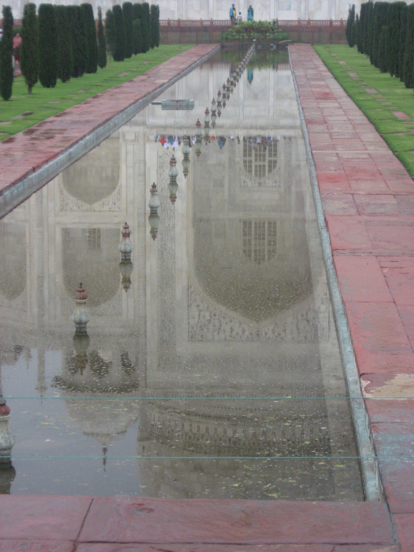 illusioni al Taj Mahal