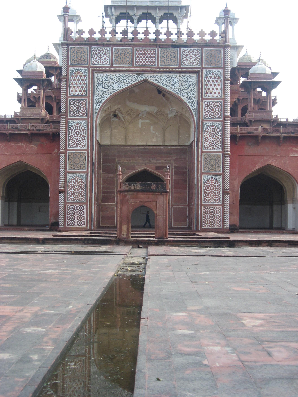 simmetrie al Forte di Agra