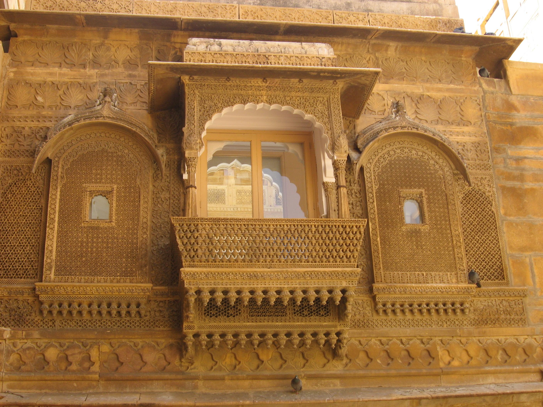 sand castle in Jaisalmer