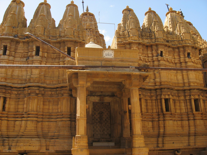 Jain temple in Jaisalmer
