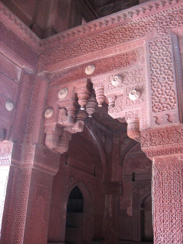 Portale al Forte di Agra
