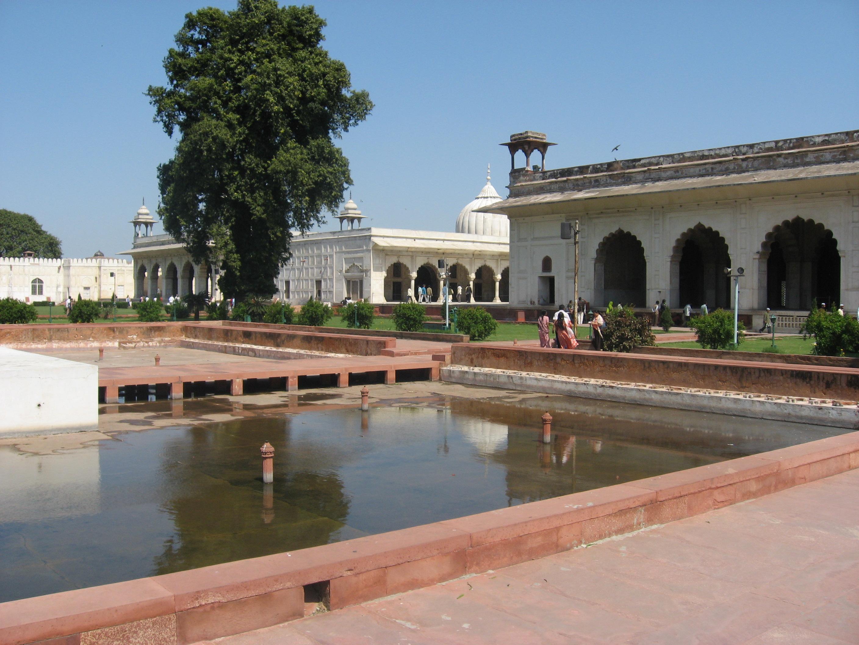fontane al Forte di Agra