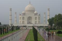 Taj Mahal e cielo