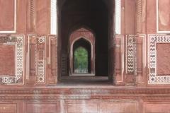 gioco di porte al Taj Mahal