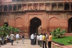 Portale d'ingresso Forte di Agra
