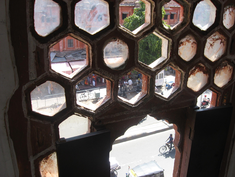 finestra oltre Palazzo dei venti