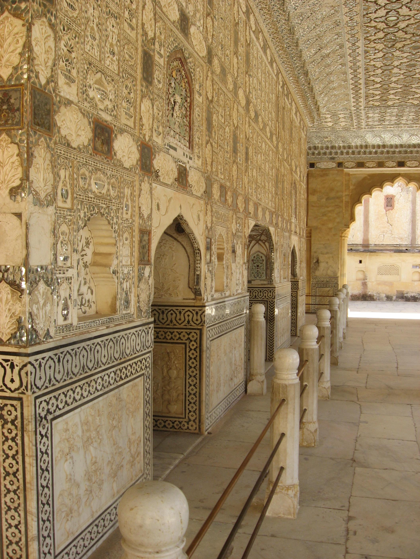 Forte di Amber, decorazioni Palazzo degli Specchi