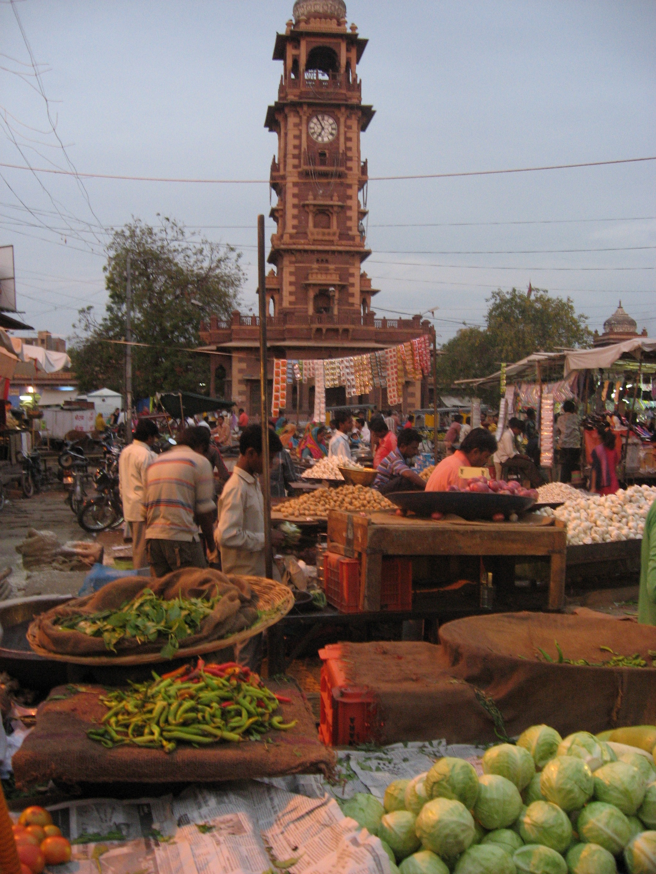 market place in Jophpur
