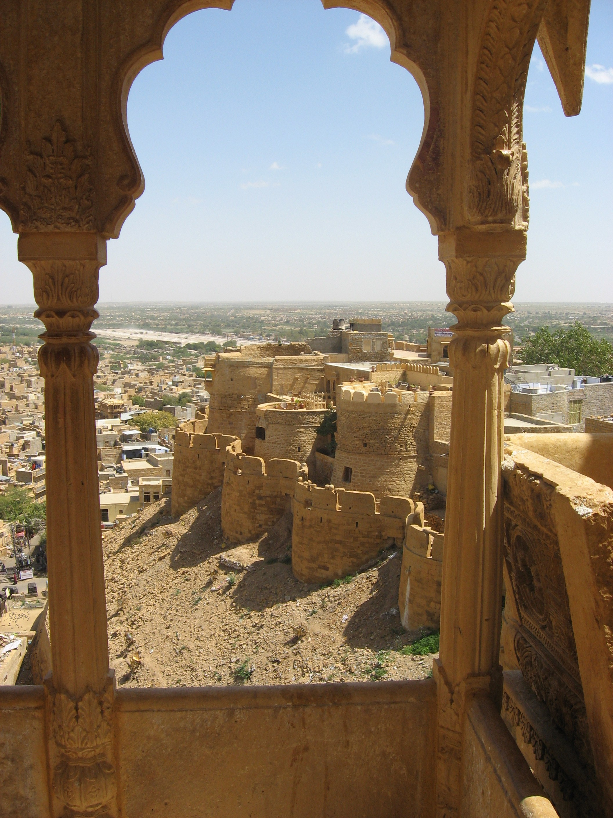 sand castle in Jaisalmer