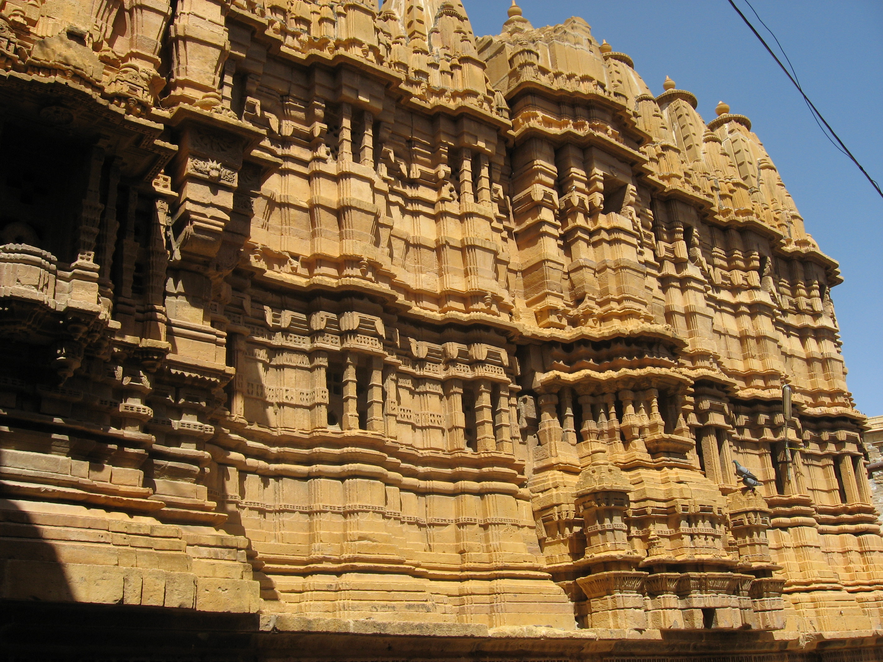 Jain temple in Jaisalmer