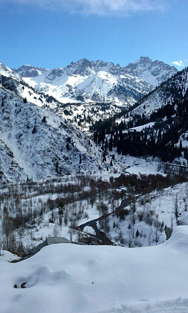 Vista dalla diga