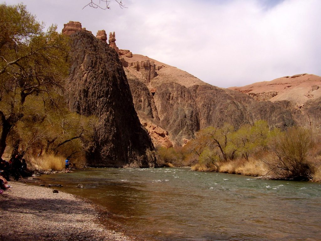 Il fiume Charyn
