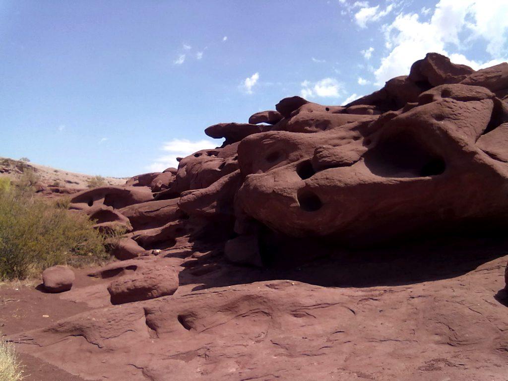 La formazione rocciosa di Katutau