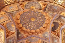 Mausoleo Ak Sarai, soffitto interno