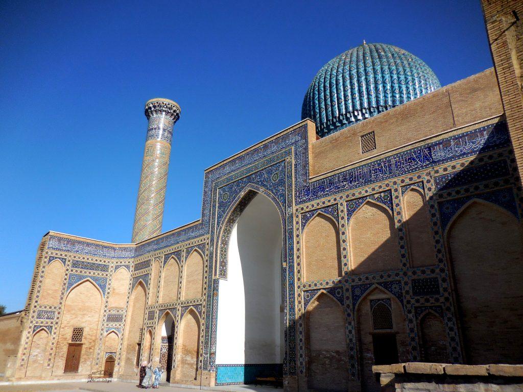 Mausoleo Gur Emir, esterno