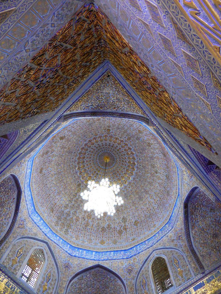 Mausoleo Gur-Emir. Cupola centrale. Foto di Erica Leoni