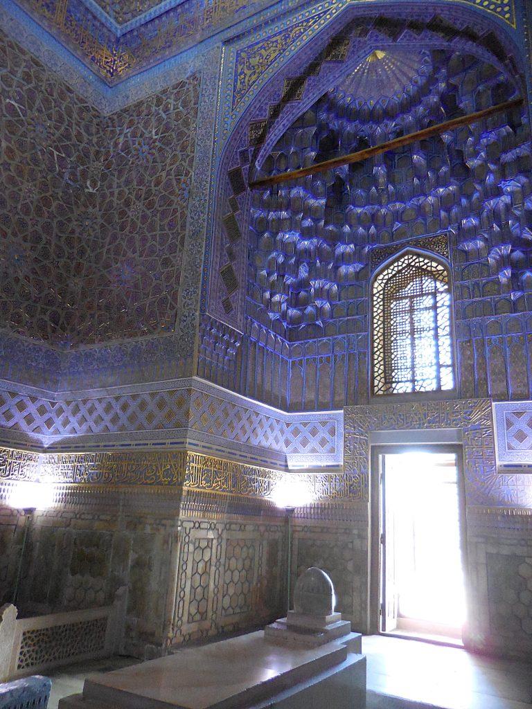 Mausoleo Gur-Emir. Sala delle pietre sepolcrali