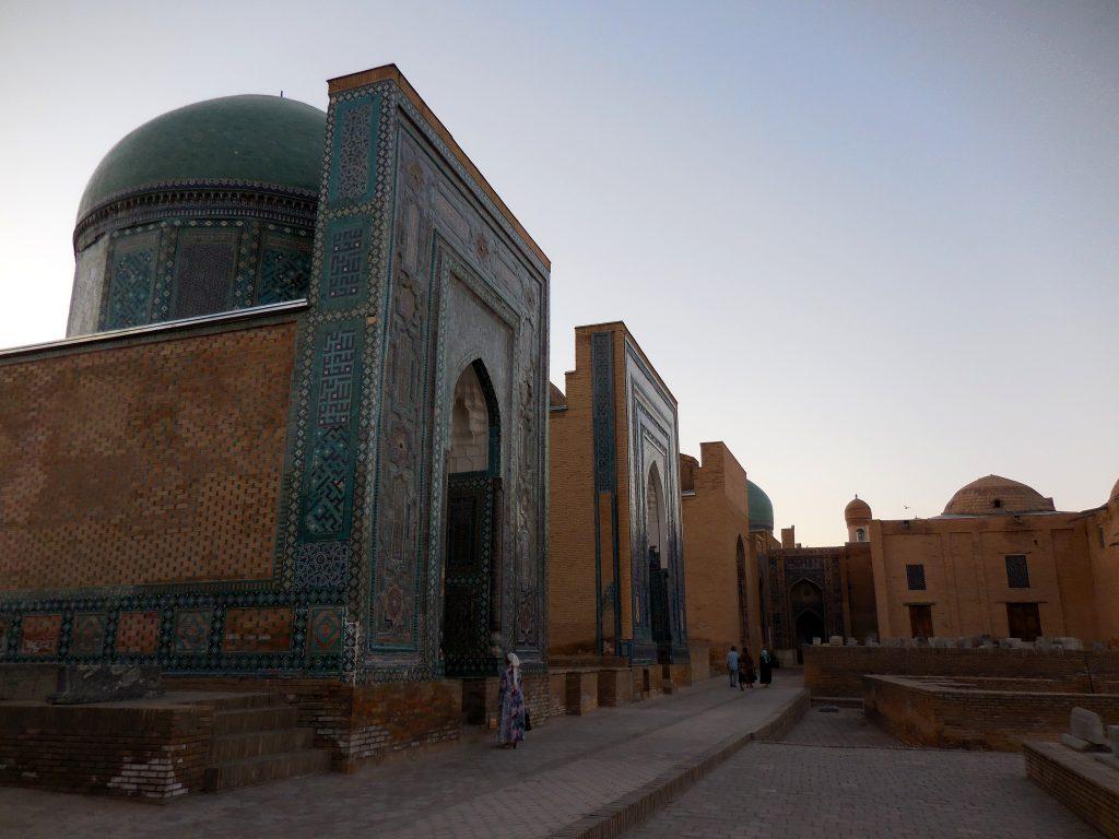 Panorama su Mausoleo di Shadi Mulk-aka e secondo livello