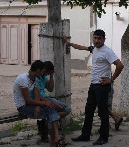Ragazzi uzbeki