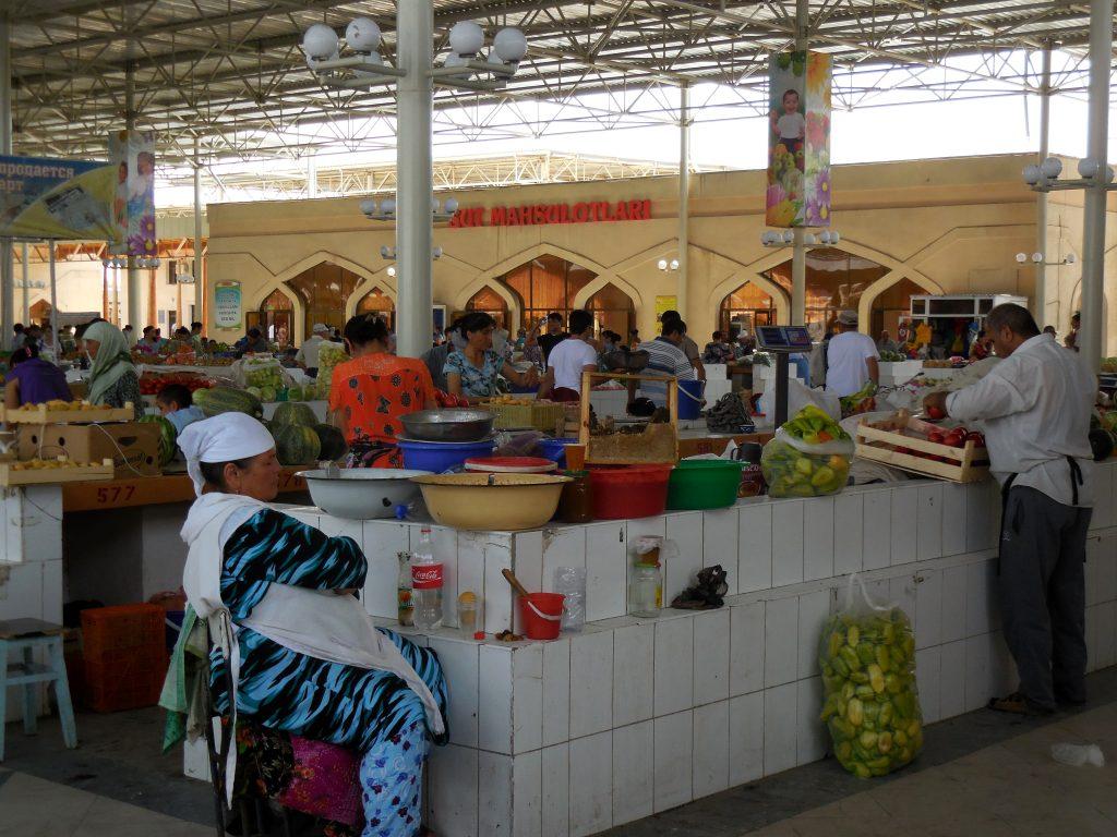 Bazar centrale di Bukhara