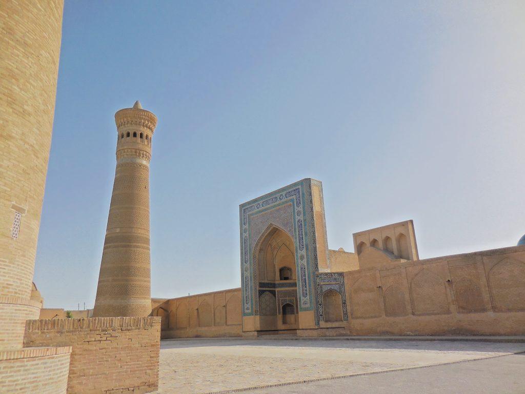 Panorama sul Minareto e Moschea Kalyan