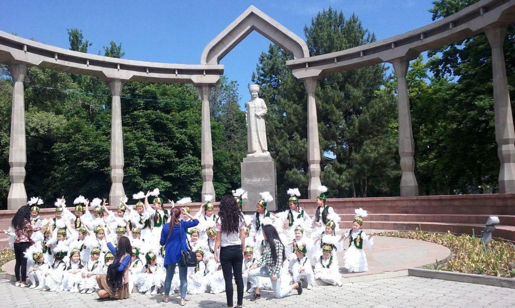 Foto di gruppo di classe di danza, Oak Park