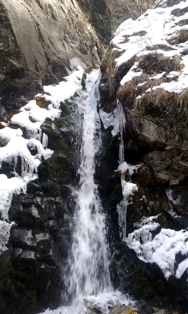 La prima cascata in Marzo