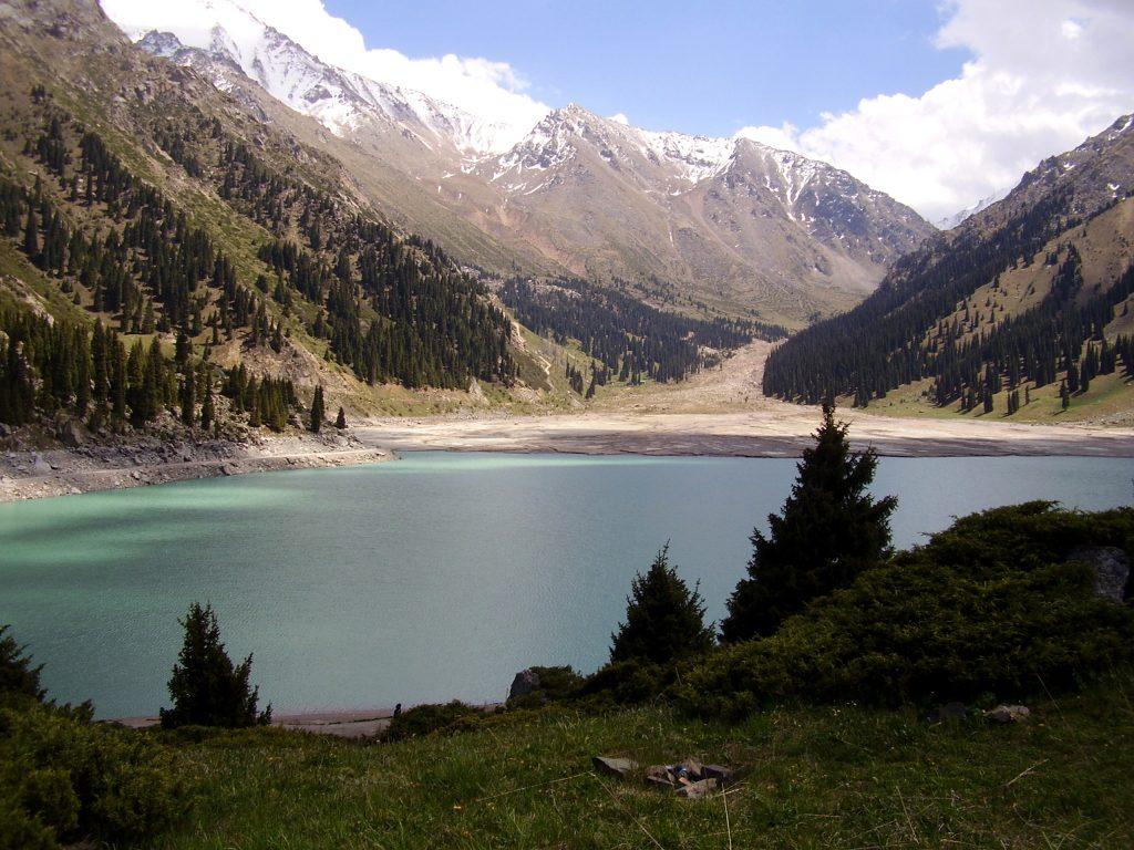 Il lago di Almaty